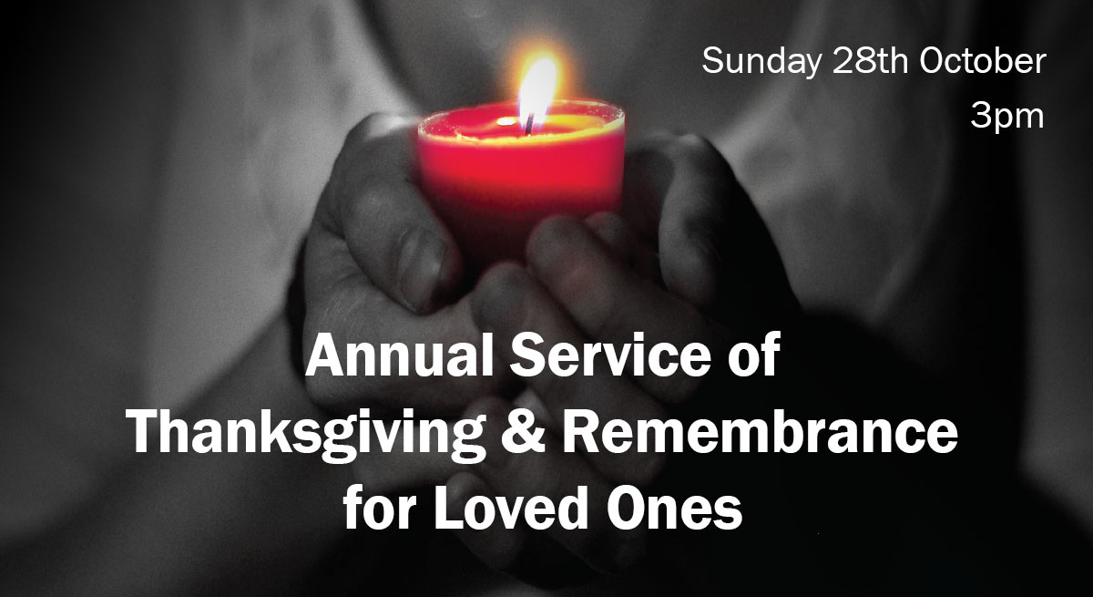 Service of thanksgiving and remembrance