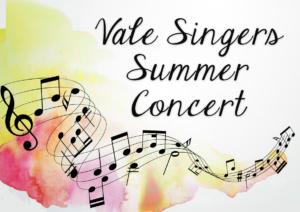 Vale SIngers Summer Concert